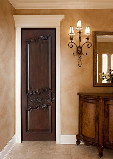 Custom Solid Wood Interior Doors