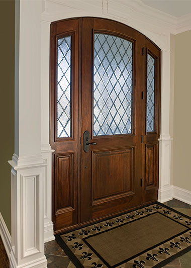 Custom Wood Doors - Front Entry