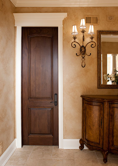 Custom Wood Doors - Interior
