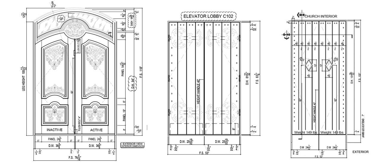 Fire Rated Doors Custom Front And Interior Wood Doors
