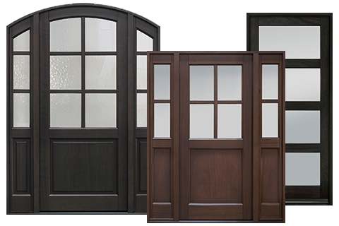 Front Entry Doors In-Stock - Wood Doors