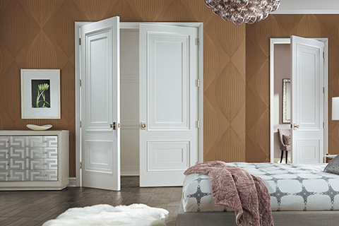 Paint-Grade Custom Interior MDF Doors