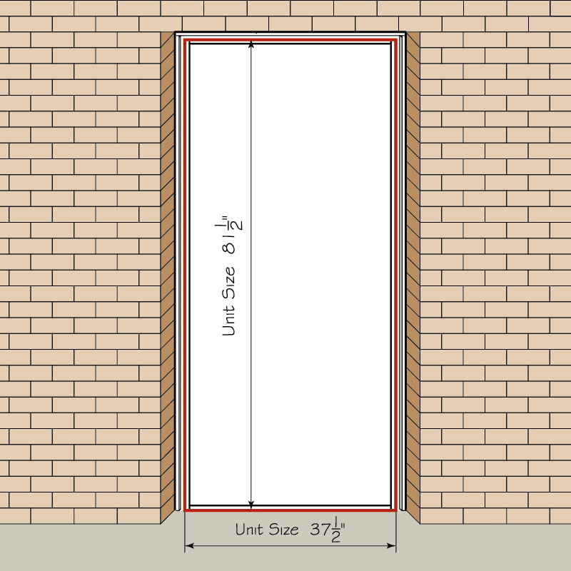 Entry Door Unit Size How To Measure Your Front Entry Door, Replacement  Exterior Doors