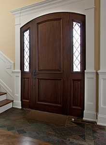 Arch Top Wood Entry Doors Part 40