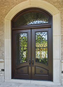 Custom Wood Entry Doors