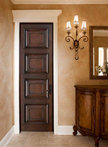 Custom Solid Wood Interior Door