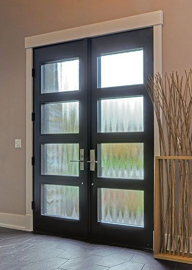 modern euro collection wood entry doors in stock - Modern Exterior Doors