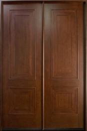 db-010-cst-double-door-dark-mahogany-custom