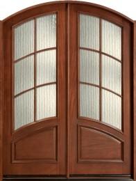 db-655-cst-meduim-mahogany-double-door