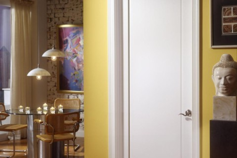 Modernist MDF Interior Door   Standard Panel