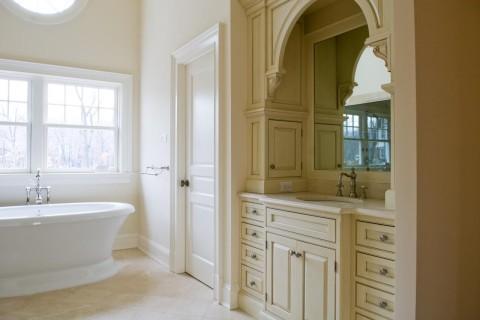 Bathroom MDF Interior Door   Standard Panel