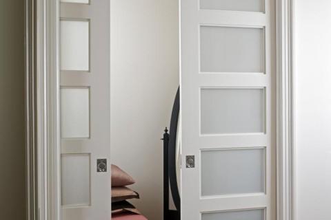 Pocket Closet_ Doors    MDF Interior Door   Standard Panel