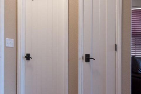 MDF Interior Door   TruStile  V Grove Series