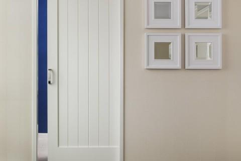 Mirror Slider MDF Interior Door   TruStile  V Grove Series