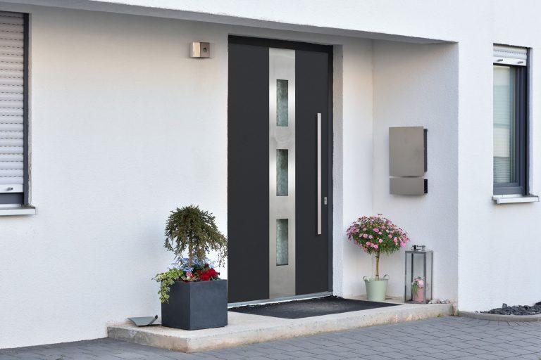 Aluminum Shield Front Entry Doors