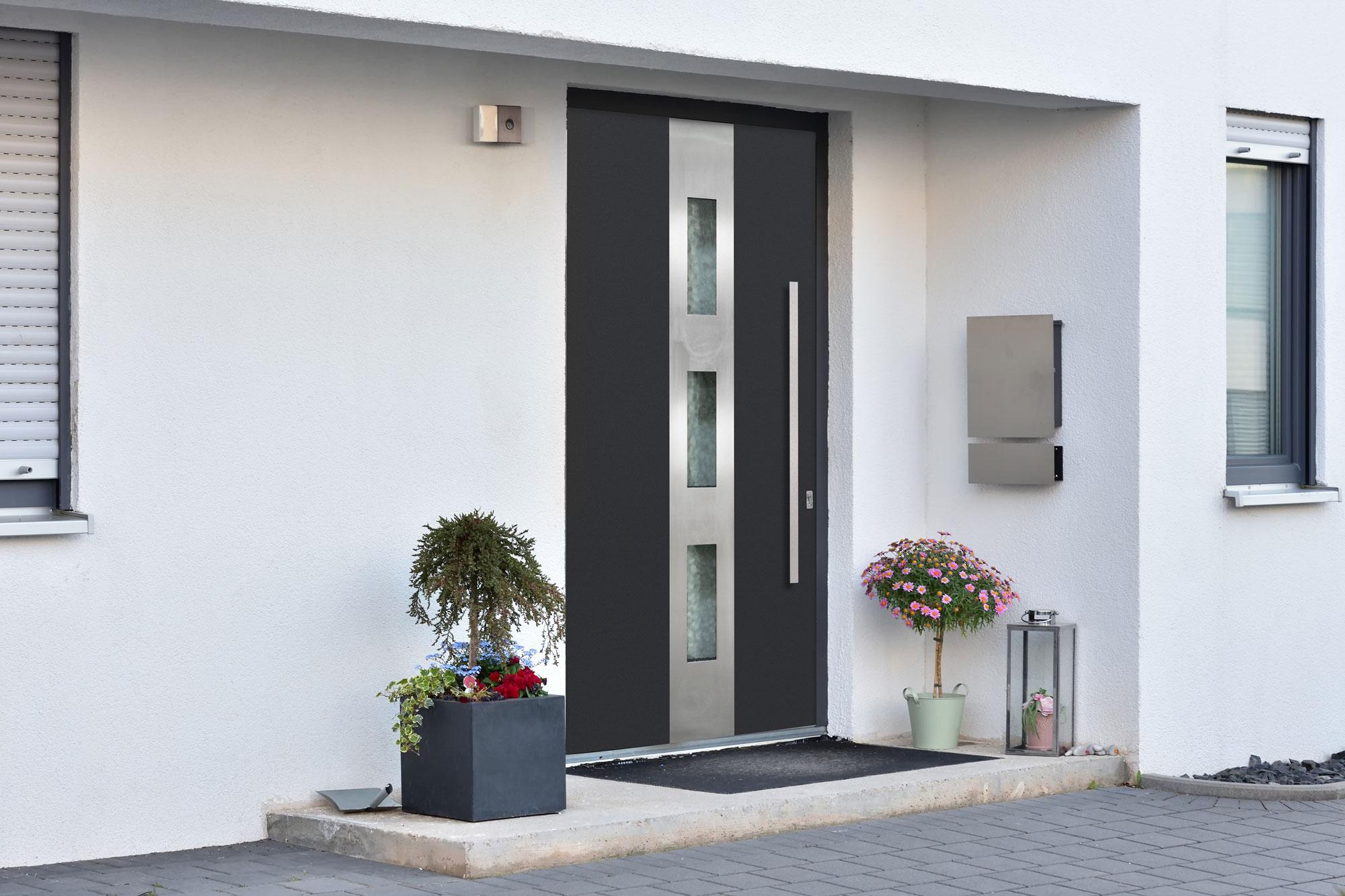 Aluminum Clad Front Door
