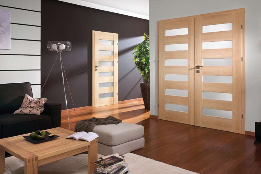 Modern Interior Eco Veneer Door