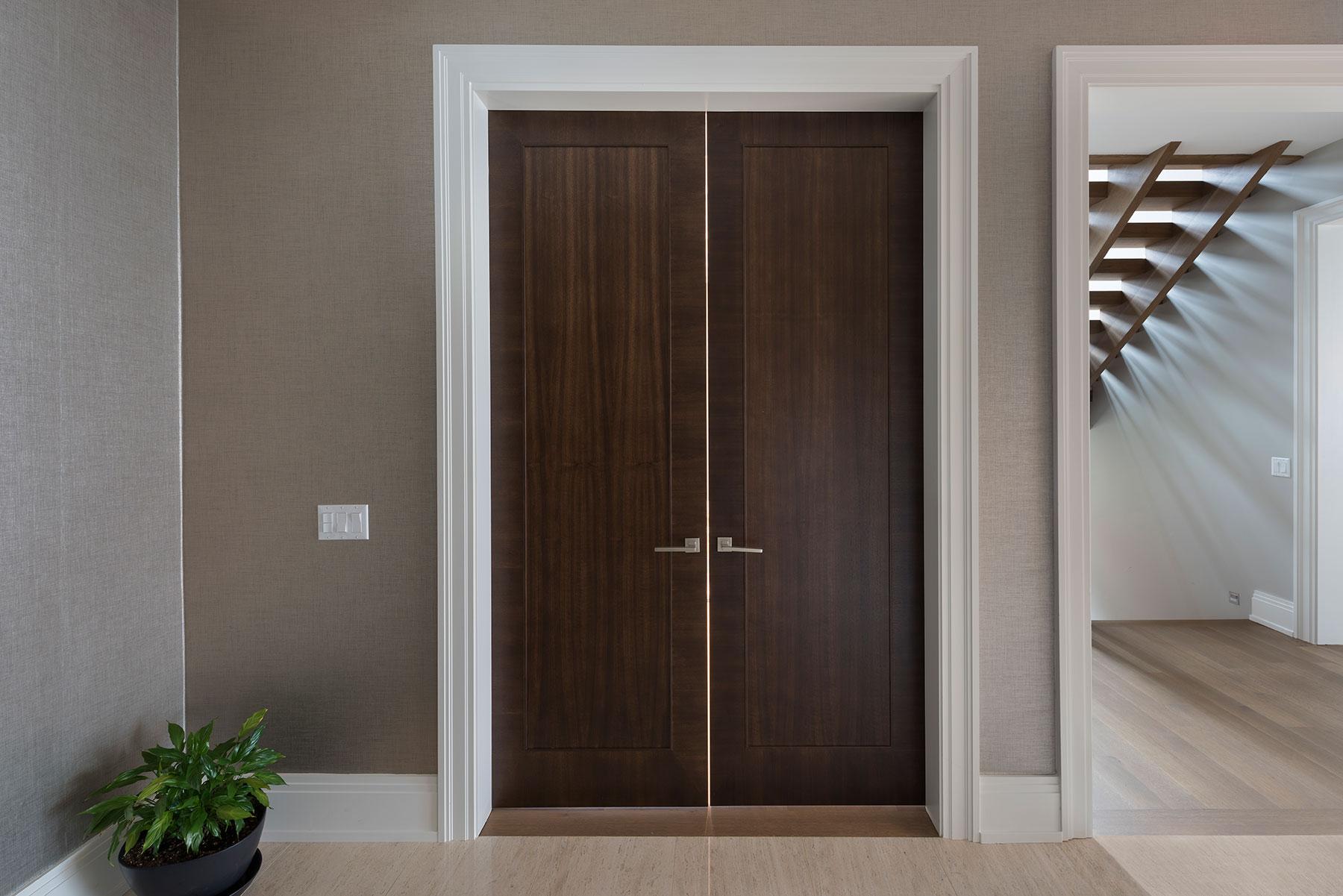 Modern Style Interior Door