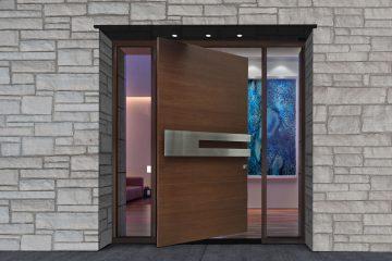 Front Pivot Doors